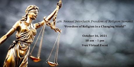 4th Annual Interfaith Freedom of Religion Summit - Winston-Salem, NC tickets