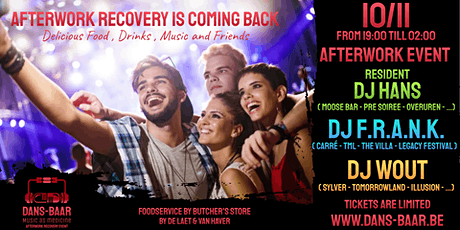 Dans-Baar Afterwork 10/11 tickets