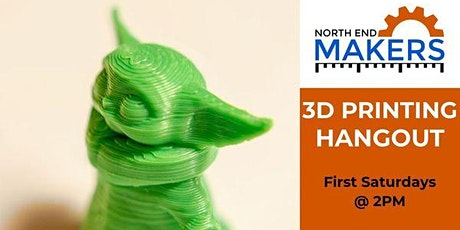 3D Printing Hangout tickets