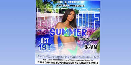 END OF SUMMER tickets