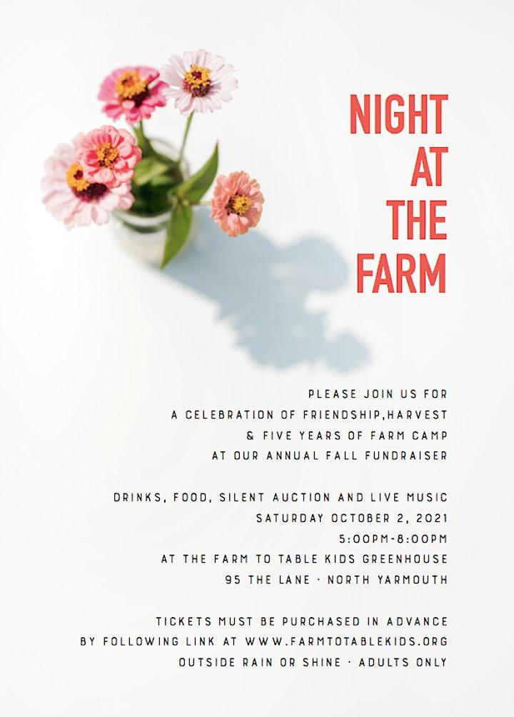 Night at the Farm  2021 image