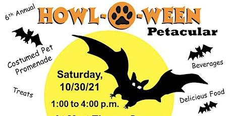 Howl-O-Ween Petacular tickets