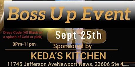 Boss Up Event tickets
