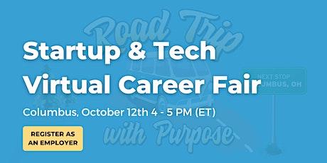 Startup & Tech Virtual Career Fair Employer Booth - Columbus tickets