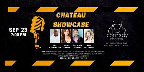 Chateau Showcase  at the Comedy Chateau (9/23) tickets