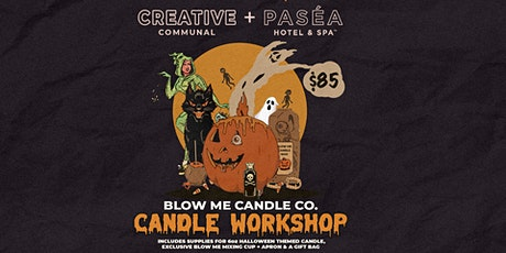 Blow Me Candle Co Workshop tickets