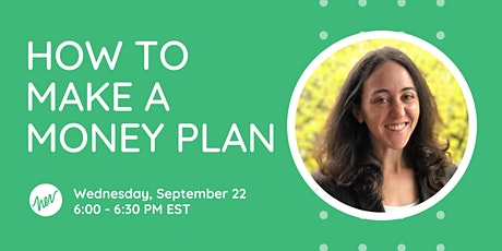 How to Make a Money Plan tickets