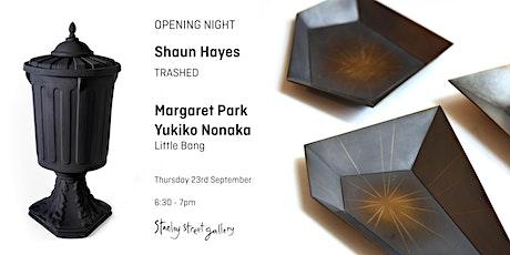 Zoom Opening - Shaun Hayes, Margaret Park and Yukiko Nonaka tickets