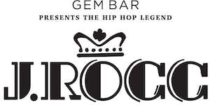 DJ J ROCC at GEM BAR 28 Aug 2015