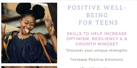 Positive Well-Being For Teens tickets