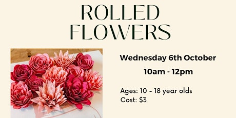 Rolled Flowers tickets