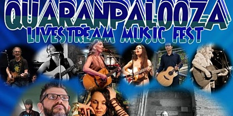 September 2021 QuaranPalooza Livestream Music Fest Tickets