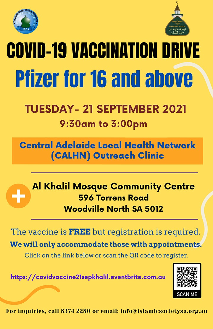 Covid-19 Vaccination Khalil Mosque 21 September 2021 image