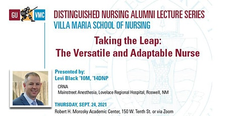 Distinguished Nursing Lecture featuring Dr. Levi Black '10M, '14DNP tickets
