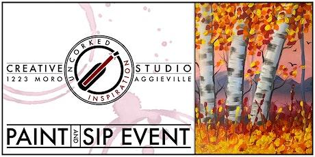 Paint & Sip | Pastel Birches tickets