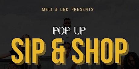 Pop-Up Sip & Shop tickets