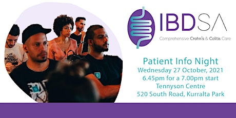 Crohn's and Colitis patient info night (in-person) tickets