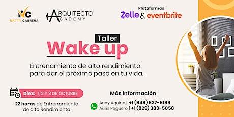 Entrenamiento WAKE UP | Alto Rendimiento boletos
