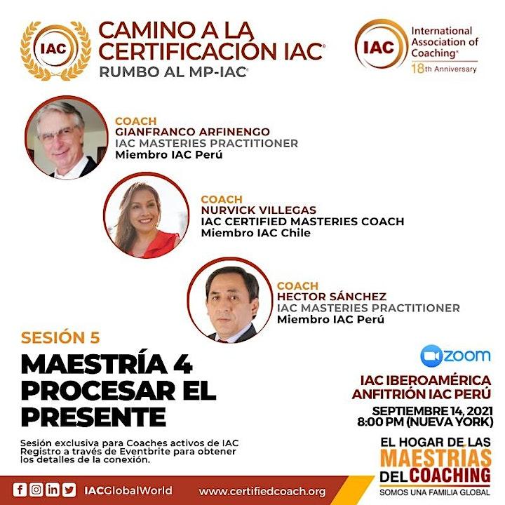 Imagen de Camino a la Certificación del MP - Masteries Practitioner