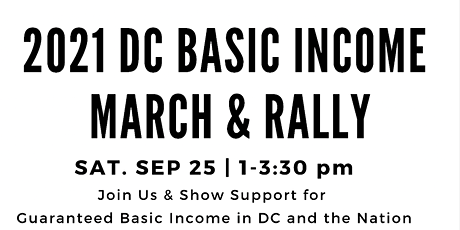 2021 DC Basic Income March tickets