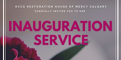 Inauguration Service: RCCG Restoration House of Mercy tickets