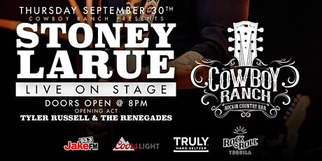 Stoney LaRue Live on Stage and Special Guest Performance by Tyler Russell tickets