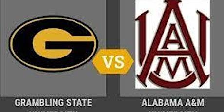 Aunt Fi's Lot -Grambling Football vs. Alabama A&M University Parking tickets