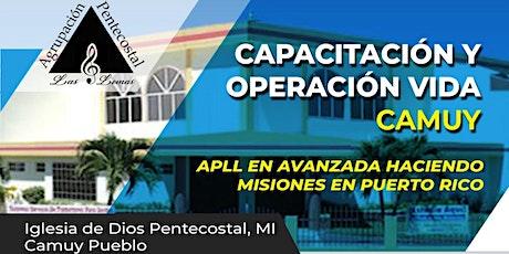 Capacitación a pastores y líderes + Operación Vida APLL tickets