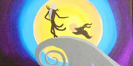 """""""NIGHTMARE ON THE HILL"""" - ADULT PAINT CLASS tickets"""