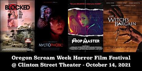 Oregon Scream Week Horror Film Festival Fall 2021 tickets
