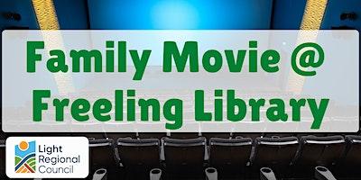 School Holidays – Family Movie @ Freeling Library