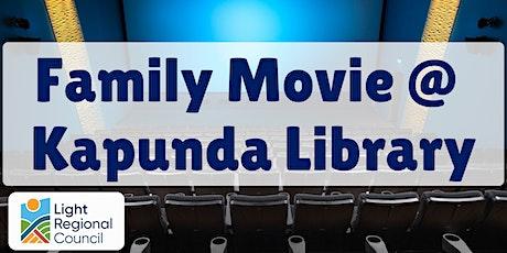 School Holidays - Family Movie @ Kapunda Library tickets