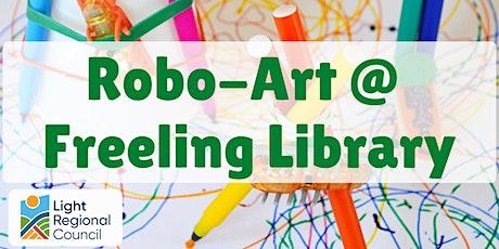 School Holidays - Robo-Art @ Freeling Library tickets
