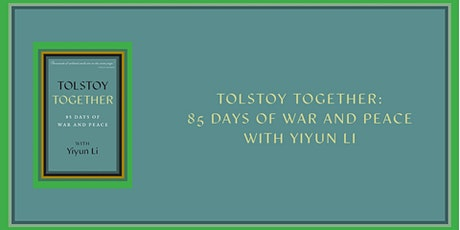 White Whale Books | Tolstoy Together: 85 Days of War and Peace tickets