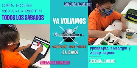 Open House/Sábados/Univ. Politécnica/ Techno Inventors tickets