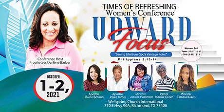 """Upward Focus - """"Seeing Life from God's Vantage Point"""" tickets"""