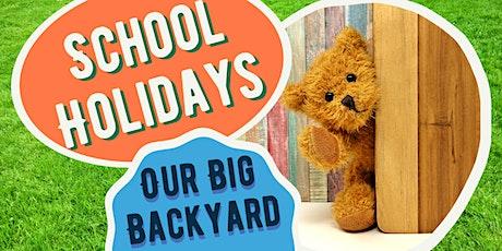 October School Holidays: Backyard Games - Seaford Library tickets