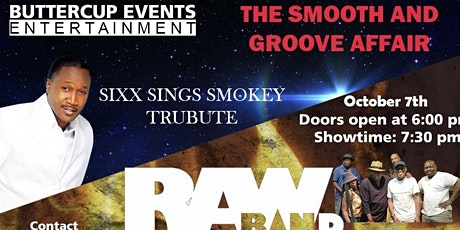 The Smooth & Groove Affair….Music of Smokey Robinson & WAR tickets