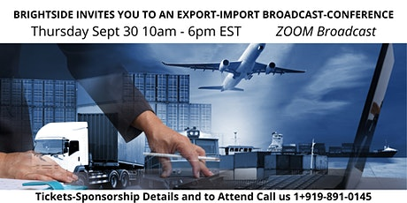 Export-Import ZOOM Broadcast - Conference tickets