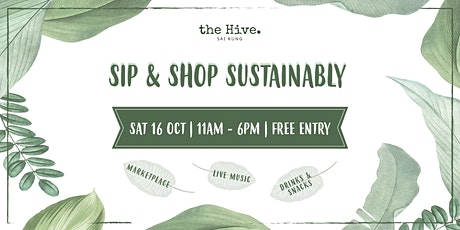 Sip & Shop Sustainably tickets