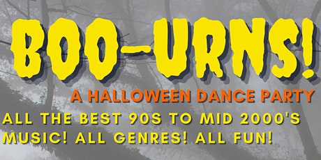 BOO-URNS: A HALLOWEEN DANCE PARTY AT THE FURNACE ROOM! tickets