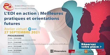 L'ÉDI en action : Meilleures pratiques et orientations futures billets