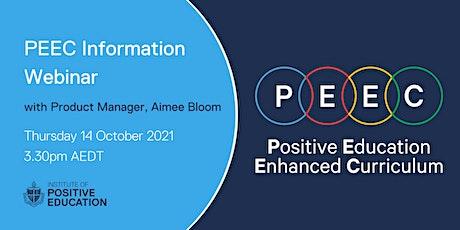 PEEC Information Webinar (October 2021) tickets