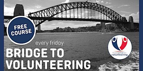 Bridge To Volunteering - An Introduction to Volunteering Webinar tickets