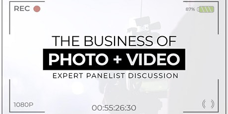 ONLINE Panelist Discussion: The Business of Photo & Video tickets