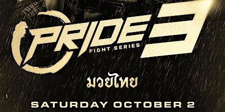 Pride Fight Series 3: rescheduled event tickets