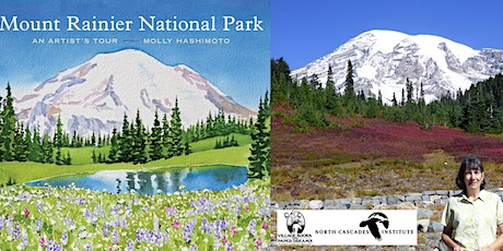 Molly Hashimoto, Mount Rainier National Park: An Artist's Tour - IN PERSON tickets