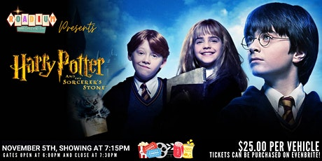 HARRY POTTER AND THE SORCERER'S STONE  - Presented by The Roadium Drive-In tickets
