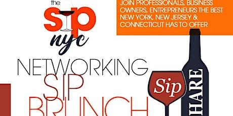 Networking  Sip   Brunch tickets