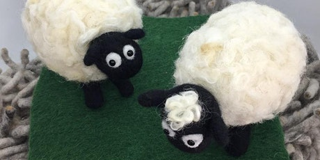 Kids School Holidays Felting - Shaun the sheep workshop tickets